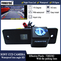 FUWAYDA شحن مجاني سوني CCD رقاقة سيارة الرؤية الخلفية عكس مرآة صورة مع دليل خط كاميرا لتويوتا هايس/فورتشنر/SW4