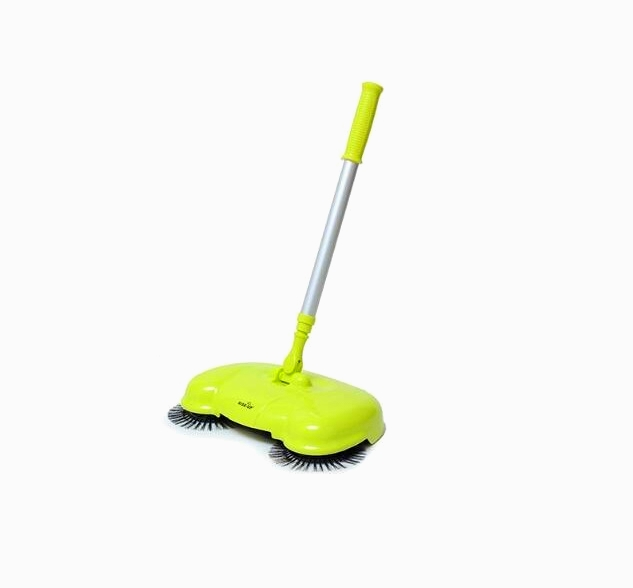 Household hand push type sweeper mop without electric vacuum cleaner broom dustpan new stainless steel sweeping machine push type hand push magic broom dustpan handle household cleaning package hand sweeper
