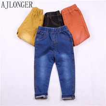 kids pants Hot 2016 autumn boys children trousers baby cotton jeans boy clothes