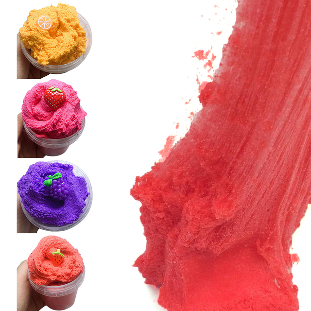 Fluffy Foam Slime Clay Color Mixing Cloud Slime Magic Clay Squishy Scented Stress Kids Toy Sludge Cotton Mud Toys Plasticine