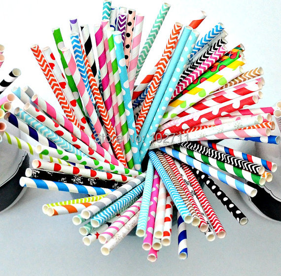 Assorted 400 colors colorful 600packs 15 000pcs paper straws Treat Wedding Favors Bridal Shower Baby Shower