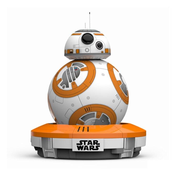 Sphero BB-8 Star Wars Bluetooth télécommande robot intelligent petite boule intelligence jouets Pour enfants cadeau livraison gratuite - 2