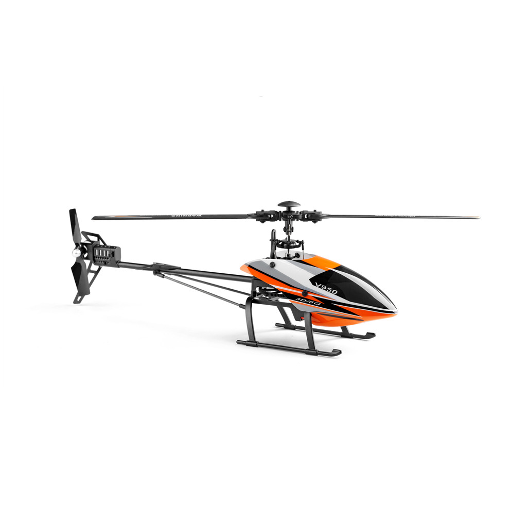 2019 Nieuwste Ontwerp Rc Helicopter Wltoys V950 2.4g 6ch 3d 6g Systeem Borstelloze Motor Flybarless Rc Helicopter T605