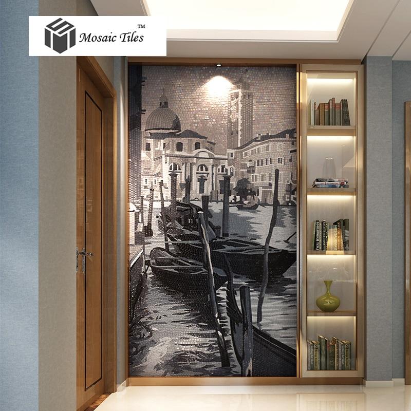 aliexpress.com : acquista venezia city casa immagine di deco ... - Piastrelle Bagno Mosaico Bisazza