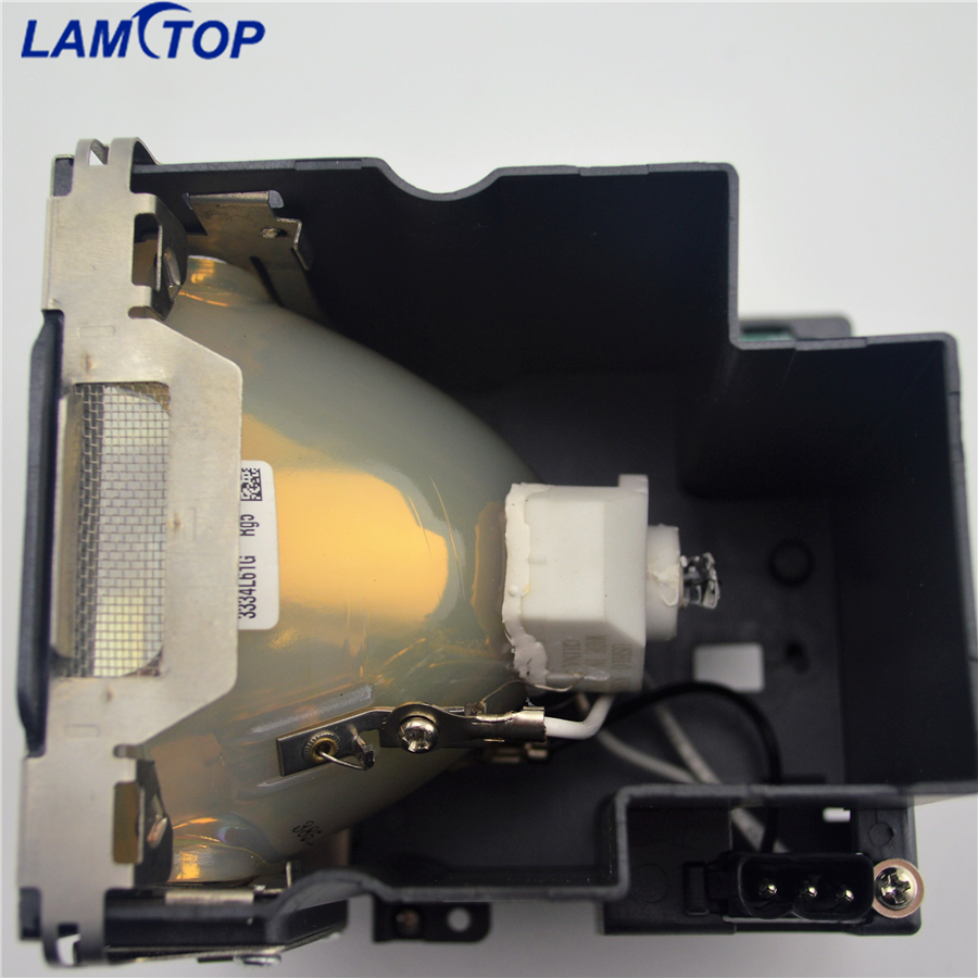LAMTOP ET-LAE12C Compatible Projector Bulb/Lamp with Cage for PT-EX12K/EX12KE/EX12KU free shipping lamtop compatible projector lamp 5j j0w05 001 for w1000