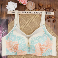 Full Cup Large Size 36 38 40 42 44 Push Up Bra Summer Style Lace Sexy
