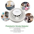 Secrui Photolectric Smoke Detector Alarm Lon Sensor Wireless Transmission Avoid Fire Explosion Poisoning Vicious Accidents