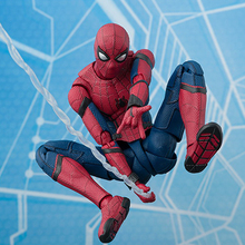 S.H. Figuarts Spider-Man Homecoming PVC SHF spider man movable figure