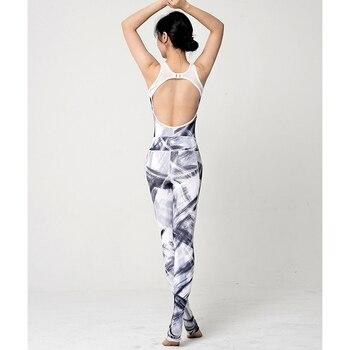 Abbigliamento Sportivo Taglie Forti | Un Pezzo Tute Set Yoga Stampa Floreale Ghette Strette Delle Donne Di Allenamento Set Abbigliamento Tuta Palestra Pilates Da Ginnastica Di Sport Di Usura