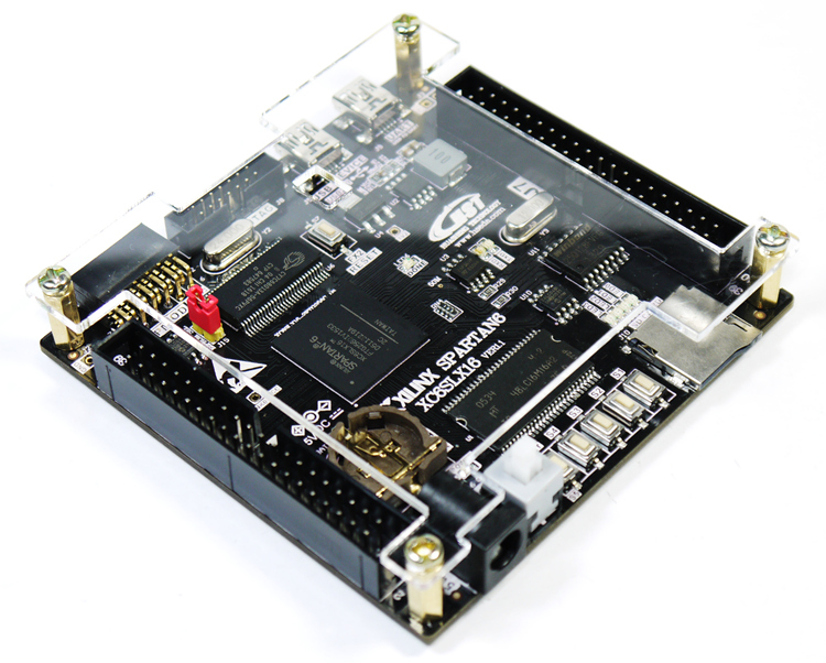 XILINX SPARTAN6 XC6SLX16 Microblaze SDRAM USB2.0 FPGA Development board A Type xilinx fpga development board xilinx spartan 3e xc3s250e evaluation kit xc3s250e core kit open3s250e standard from waveshare