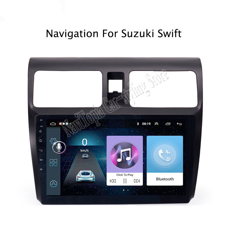 10.1inch Android 9.0 Car Radio GPS Navigation Multimedia Stereo DVD Player for <font><b>Suzuki</b></font> <font><b>Swift</b></font> 2004 <font><b>2005</b></font> 2006 2007-2010 image