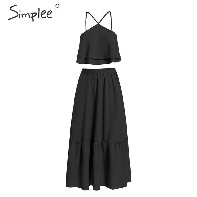 Vintage Halter Summer Dress...