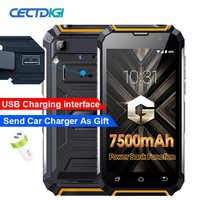 """Schnelle lieferung Geotel g1 3g wcdma Smartphone 5,0 """"Andriod 7,0 MT6580A Quad core 2 GB RAM 16 GB ROM power bank 7500 Mah super batterie"""