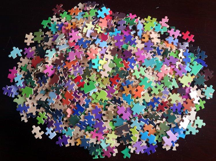 Resultado de imagen para rompecabezas de mil piezas