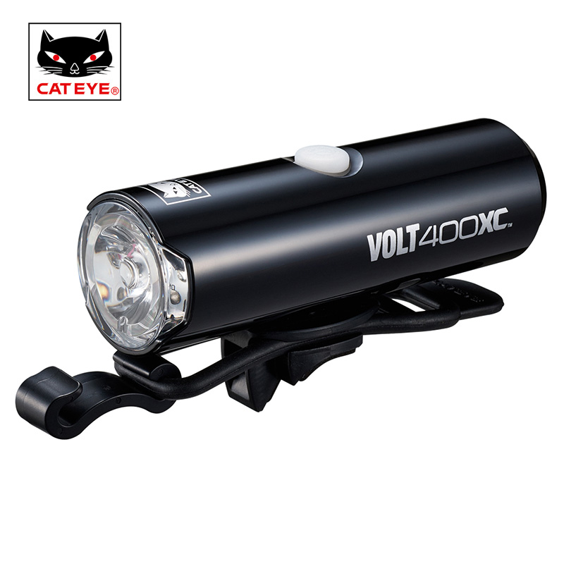 CATEYE Bicycle Light 100/200/400/500 Lumens Cycling Bike Light Head front Lights Torch Lamp for Bike Bicycle Accessories cateye hl el930rc bike rechargeable lamp super bright sumo3 light bicycle headlights