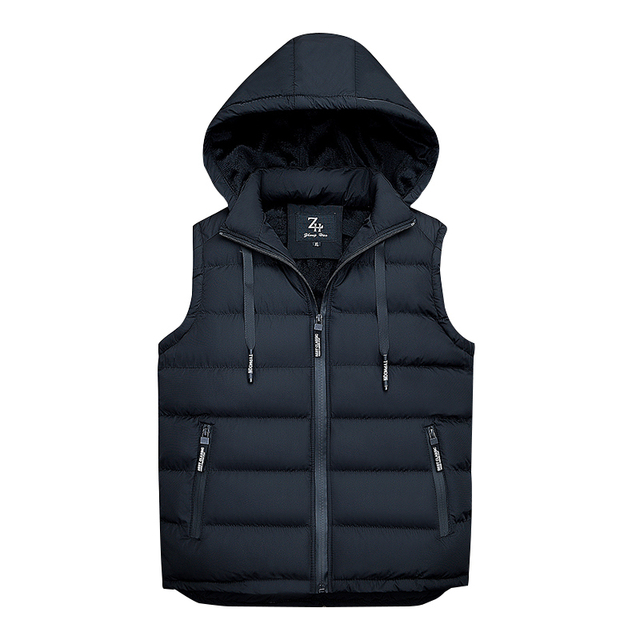 DAVYDAISY 2018 New Arrival Winter Vest Men Thicken Warm Sleeveless Men Down Jacket Chalecos Para Hombre Men Vest Coat DCT-232