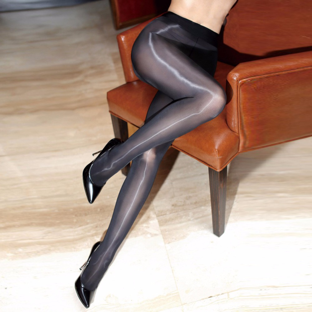 10355f2ef1c96 Women Sexy Tights Oil Shiny Pantyhose Smoothly Fabric 8D Hosiery Fantaisie  See Through Strumpfhose Gloss Stockings-in Tights from Underwear &  Sleepwears on ...