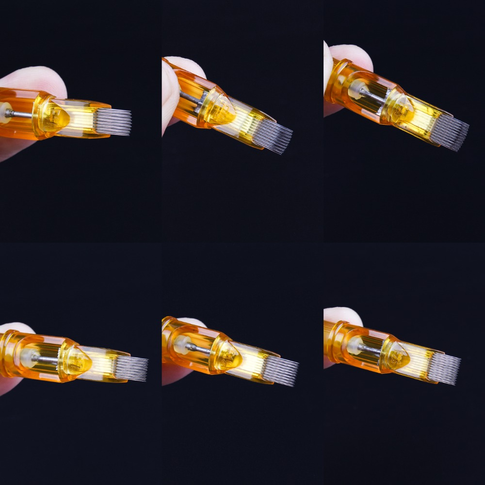 100pcs 멸균 일회용 문신 카트리지 바늘 도구 3rs/5rs/7rs/9rs/11rs/14rs 문신 총 용품 1r/3rl/5rl/7rl/8rl/9rl-에서타투 바늘부터 미용 & 건강 의  그룹 2