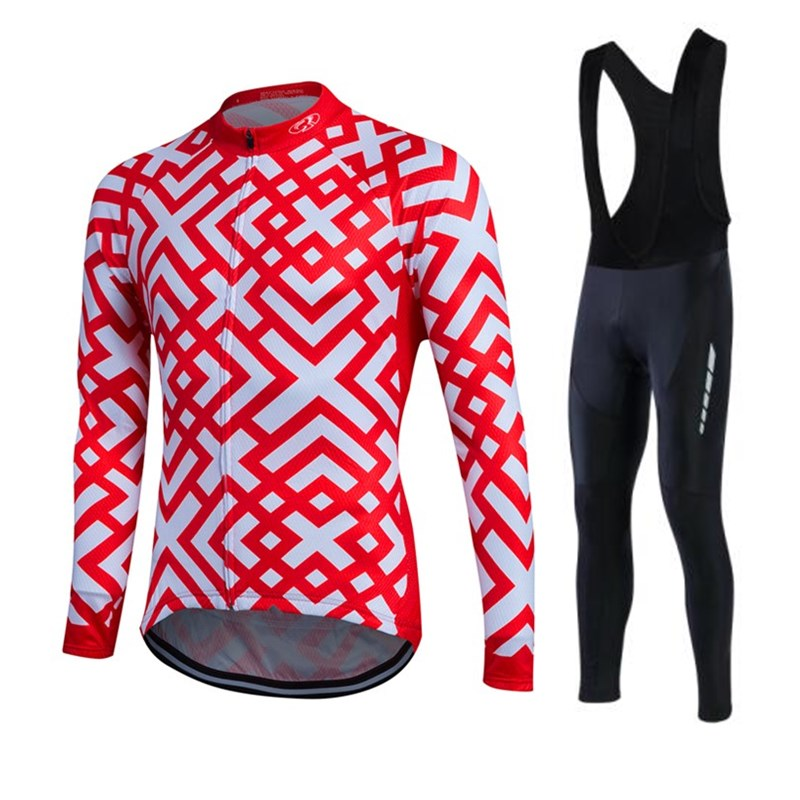 ФОТО Fastcute Winter Riding Thermal Fleece Jersey Cycling Clothes Warm Ropa Ciclismo Long Sleeve Bicycle Shirt Pant UUHL32A