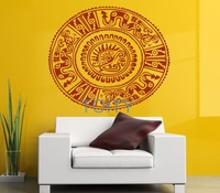 아즈텍 네이티브 벽 스티커