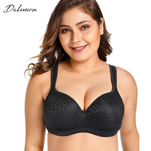 Delimira Nữ Dạ Nỉ Full Cup Hỗ Trợ Xốp Viền Up Underwire Bra
