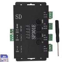 SP301E Syn signal Programmable LED Controller For WS2811 WS2813 WS2812B SK6812 APA102 Pixel LED Strip Panel light,DC5 24V