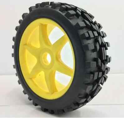 Neumáticos de goma/las ruedas llanta Hub 4 piezas hexagonal 17mm encaja hobao FS LOSI REDCAT HSP HPI KYOSHO RB hRAXXAS de carreras