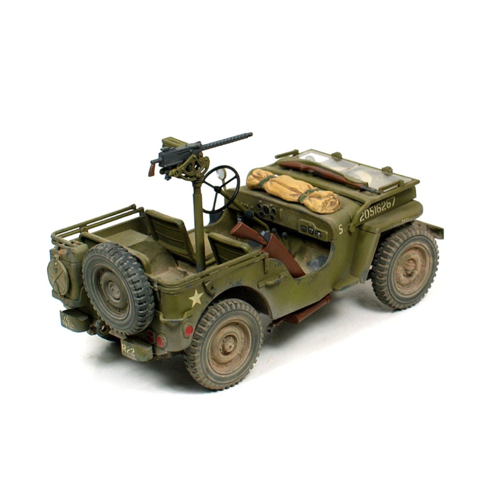 US $28 98 15% OFF Tamiya 35219 1/35 Scale Military Model Kit US Army Jeep  Willys MB 1/4 Ton Truck RC toy-in Parts & Accessories from Toys & Hobbies  on