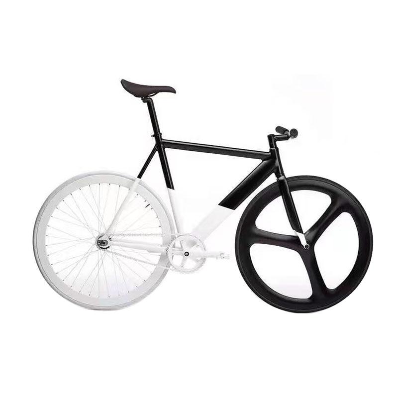Festen Gang Fahrrad Bahnrad rahmen mit Magnesium legierung RAD 50mm ...