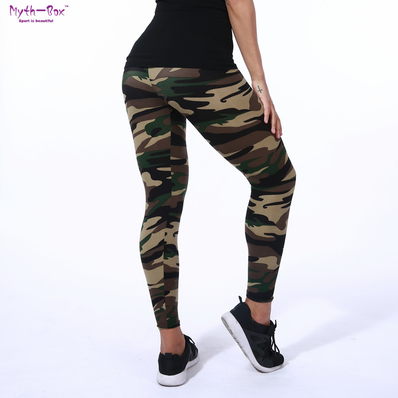 цены Summer Women Yoga Pants Elastic Sport Camouflage Leggings 3D Print Thin Fleece Slim Capris Quick Dry Trouser Skinny Gym Jeggings