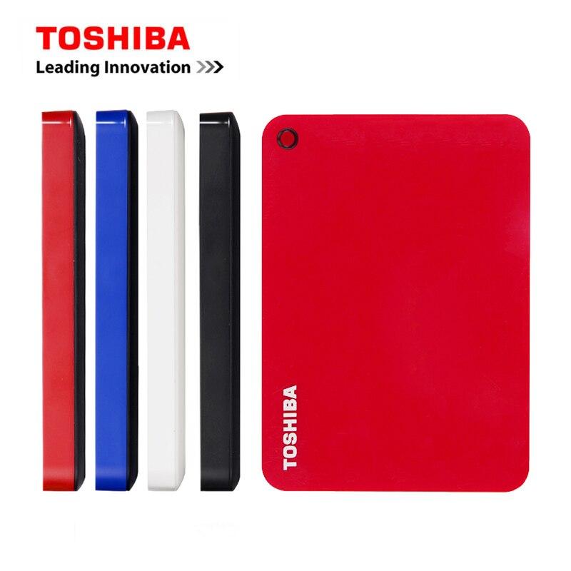 Внешний жесткий диск TOSHIBA Canvio ADVANCE, 2,5 дюйма, 1 ТБ/2 ТБ, портативный жесткий диск USB 3,0 HDD, настольные устройства для хранения ноутбуков HD V9