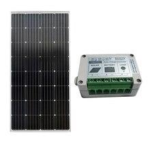 150W Monocrystalline Solar Panel & 15A SOLAR Controller Home Power