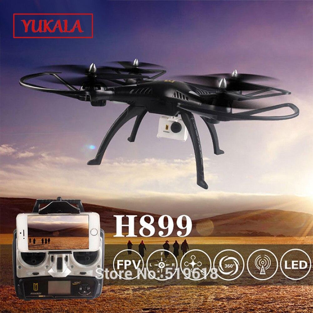 Livraison gratuite 2.4G grand quadrirotor rc Drone support de caméra inclus comme cadeau H899 VS x8c/x8w peut ajouter FPV caméra hélicoptère rc