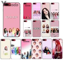 Yinuoda PINK k-pop BLACKPINK kpop Custom Photo Soft Phone Case for iPhone 5 5Sx 6 7 7plus 8 8Plus X XS MAX XR(China)