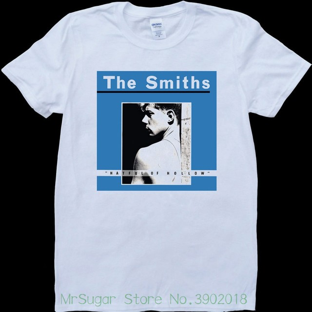 88299948 The Smiths Hatful Of Hollow White , Custom Made T-shirt Printed Men T-shirt  Short Sleeve Funny Tee Shirts