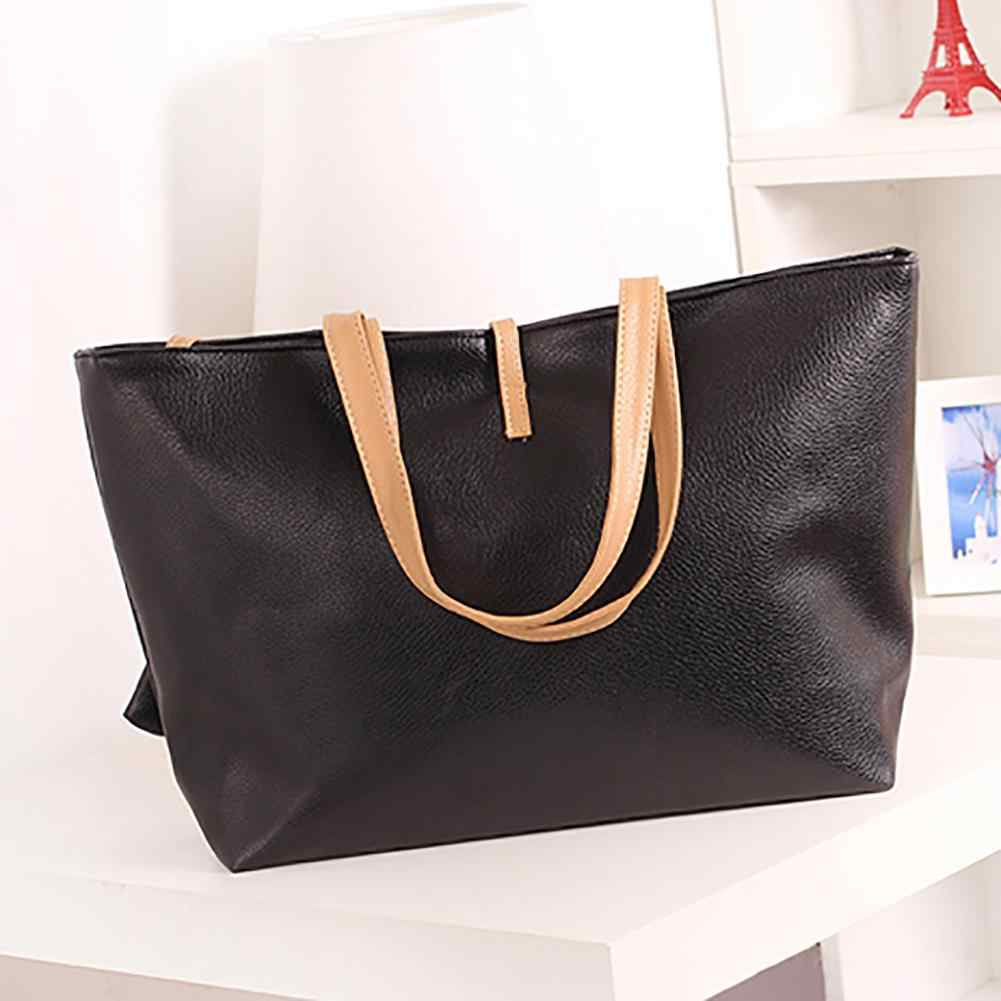 Famous Brands Women Leather Bags Handbag Tote Laptop Office Fashion Bag  Waterproof Women Shoulder Bag Designer ccf3264b40db9