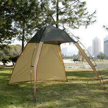 Portable Single Layer to Build a Fishing Tent Beach Park Super Light Shade