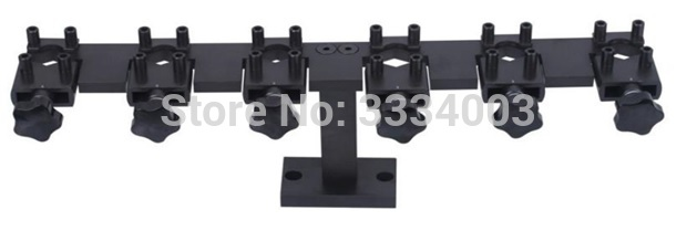 common rail injector stand frame used on common rail test bench for Bosch Denso and Delphi, common rail injector clamp tool common rail injector diesel collector for bo sch common rail test bench part 1pcs