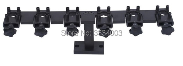 common rail injector stand frame used on common rail test bench for Bosch Denso and Delphi, common rail injector clamp tool