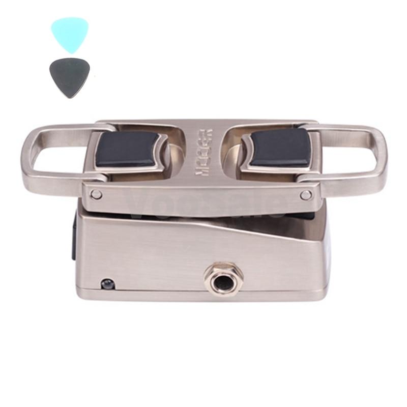 Mooer Leveline Mini Volume Guitar Effect Pedal Bass Keyboard Metal Shell Pedal True Bypass Guitar Accessories mooer graphic b mini 5 bnad bass equalizer true bypass