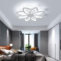 Chandelierrec современный светодио дный люстры для Гостиная Спальня AC90 260V освещения домашнего декора цветок формы люстры