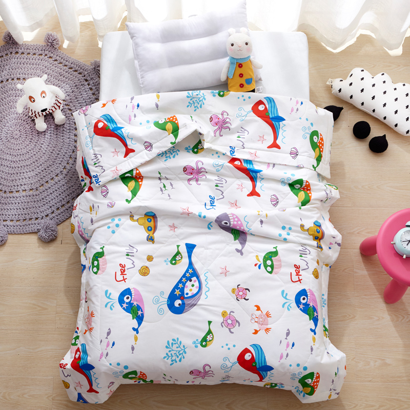 Cartoon Animals Quilted Bedding Quilt Comforter Washable Kids Quilt Whale Dinosaur Blanket Airconditioner Summer Cotton QuiltsCartoon Animals Quilted Bedding Quilt Comforter Washable Kids Quilt Whale Dinosaur Blanket Airconditioner Summer Cotton Quilts