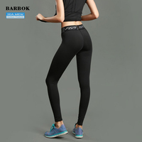 BARBOK Yoga Pants Sportswear Fitness Yoga Sports Leggings For Women Running Tights Female Legging Factory Sale