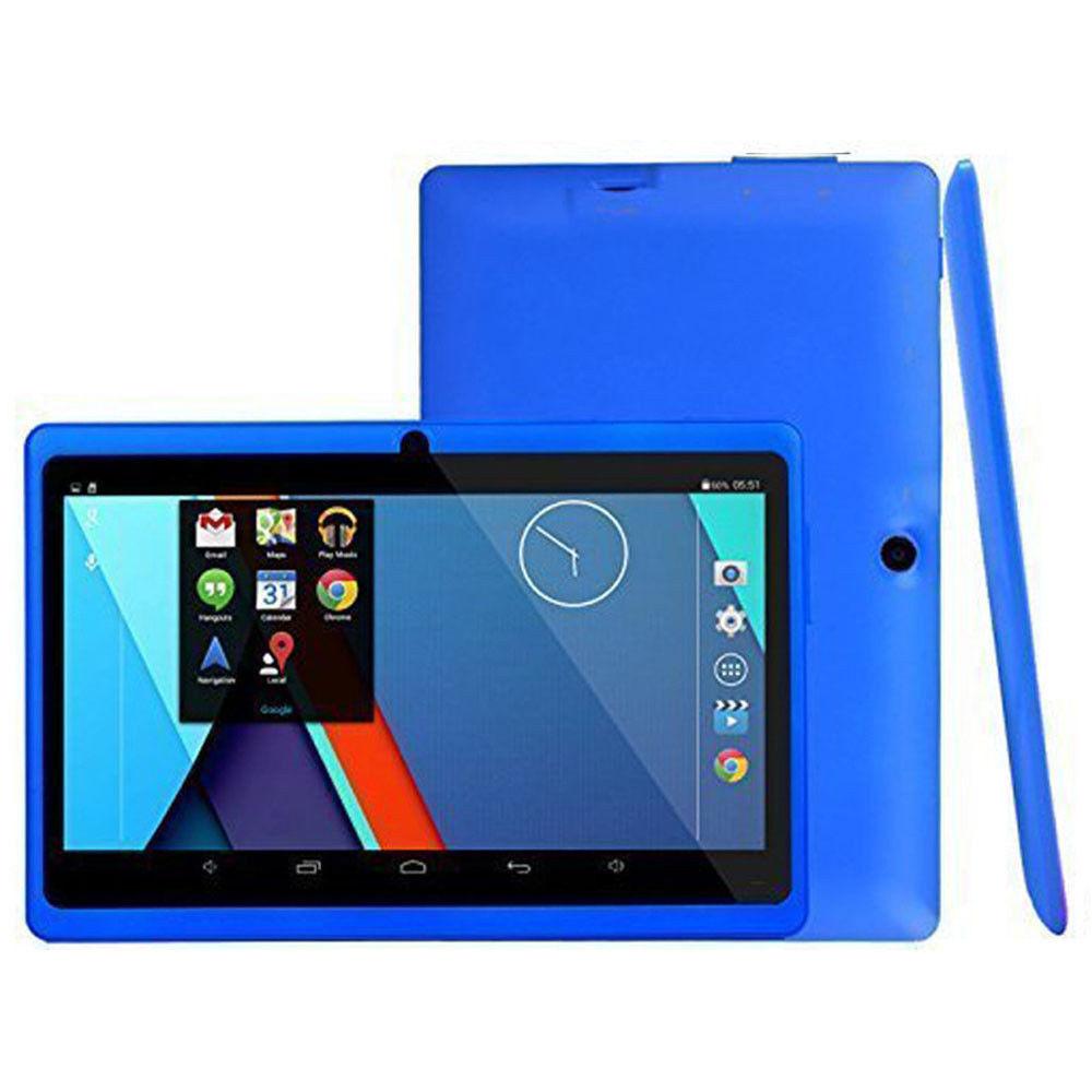 Дети изучают 7,0 дюймов Android 4,4 Детские Планшеты 4-Core Dual 8 ГБ памяти Камера Bluetooth, Wi-Fi PC