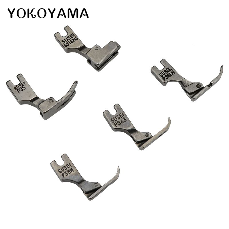 HONEYSEW 5pcs Presser Foot S518N P36LN P36N P363 P35 for Juki Industrial Sewing Machine