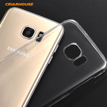 CRIAR HOUSE Cases For Samsung Galaxy S2 S3 S4 S5 S6 S7 Edge Neo Mini G930 G800 Transparent Hard Plastic Pc Clear Case Cover
