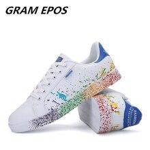 Новая мужская повседневная обувь, мужская обувь, дышащие теннисные белые туфли, супер звезда, Zapatilla Stans chaussure homme размера плюс 35-45