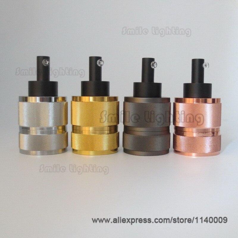 1pcs/lot or 2pcs/lot High Quality E27 Pendant Lamp Socket 4 Finishes Vintage Edison Light Holder Industrial Bulb Pendants 1pcs lot ltc2642cms 16