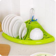 Corner Dish Tray Drain Rack Kitchen Dish Holder Dish Drying Rack Cup Holder