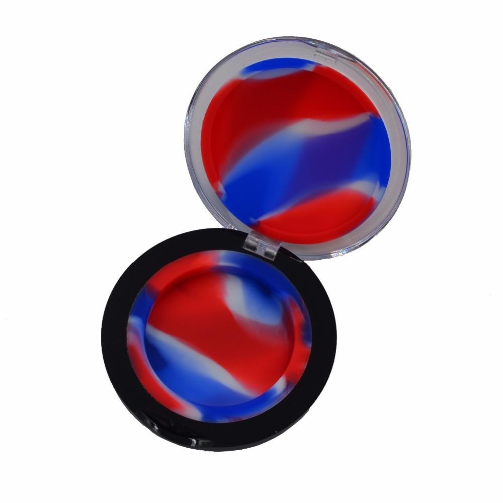 20db Non Stick Bho szilikon sima olaj tartály Dab Wax Jar 6ml akril - Szervezés és tárolás